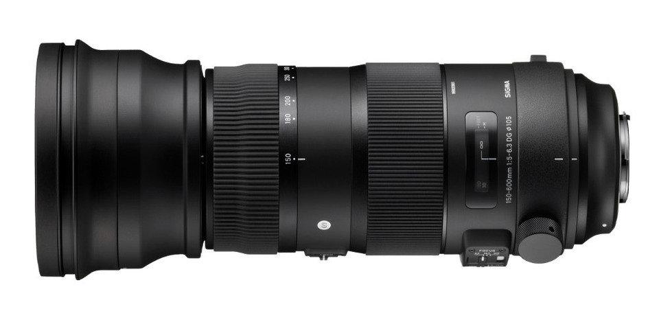 SIGMA 150-600 mm F5-6.3 DG OS HSM Sport