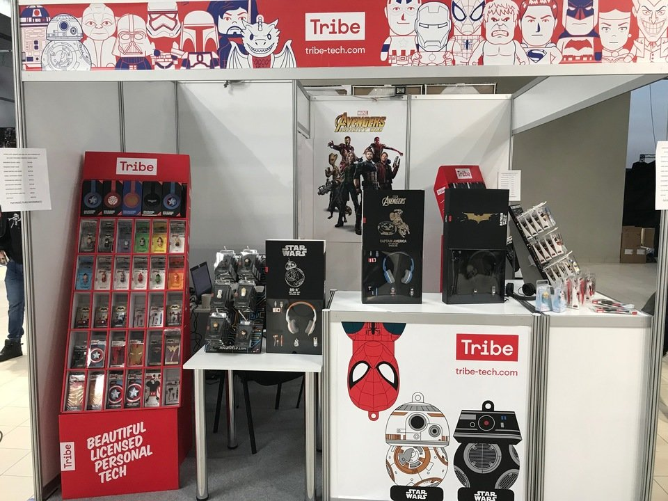 Tribe na Comic Con