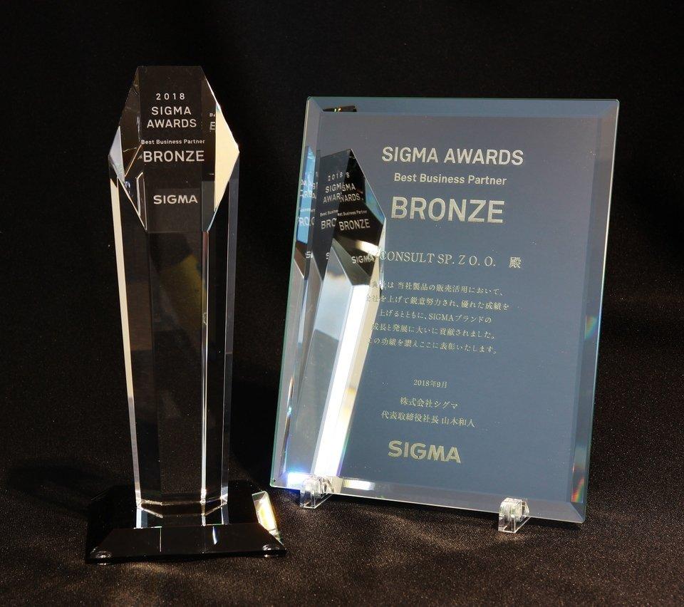 Wyróżnienie od Sigma Corporation