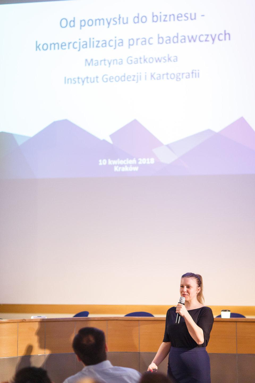 Martyna Gatkowska, Instytut Geoedezji i Kartografii