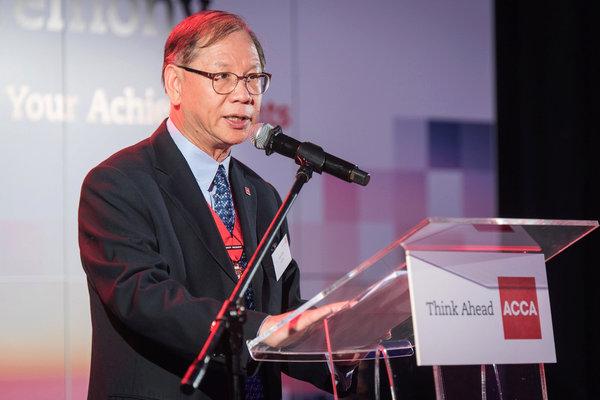 Leo Lee, Zastępca Prezydenta ACCA  fot. Bartłomiej Sawka