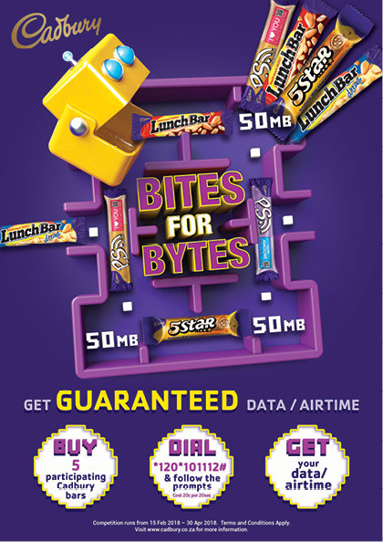 The more you bite, the more bytes you can GET with Cadbury