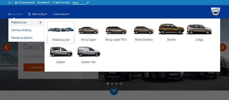 See Slovakian Dacia website
