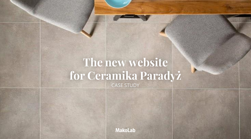 Se what we have done for Ceramika Paradyż