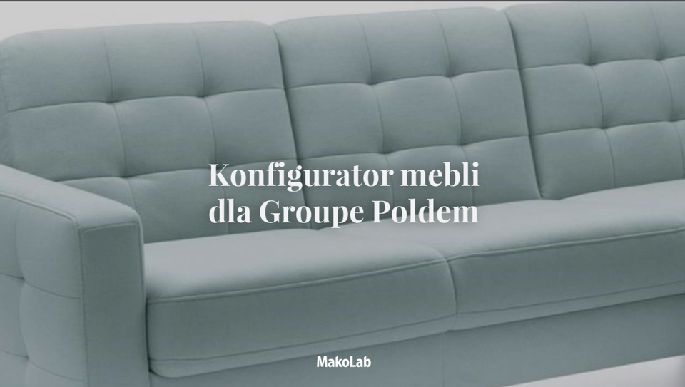 Zobacz case study 3D Furniture Configurator dla Poldem
