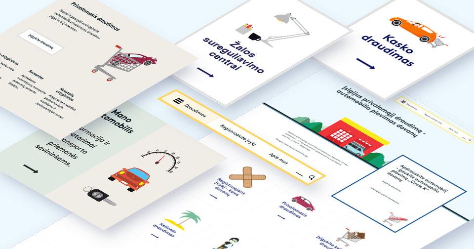 Gjensidige Online Insurance Platform