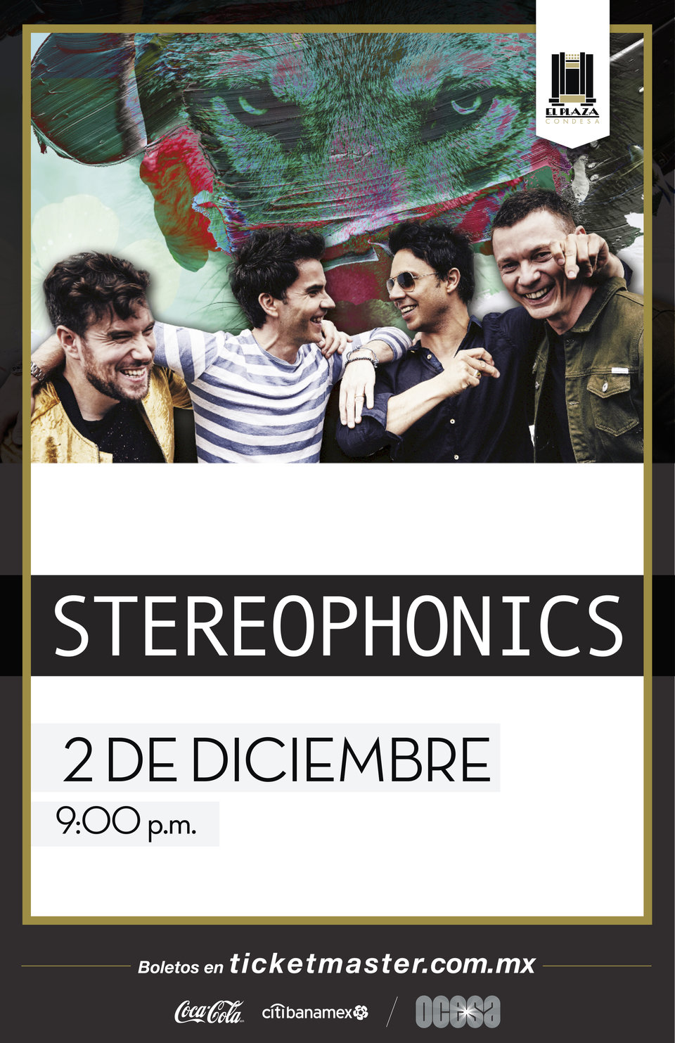 Stereophonics, arte oficial.