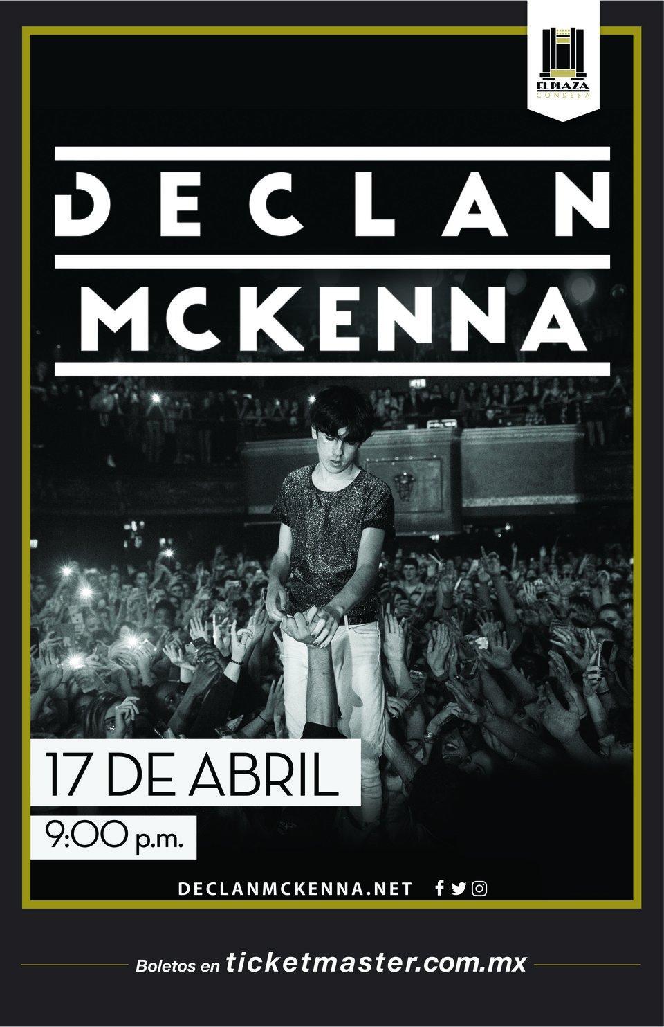 Arte Oficial: Declan McKenna en El Plaza Condesa