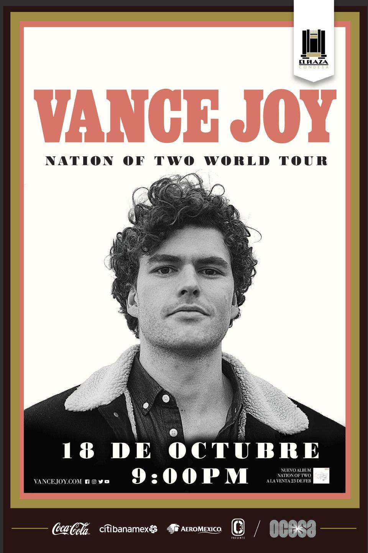 Arte oficial, Vance Joy en El Plaza Condesa