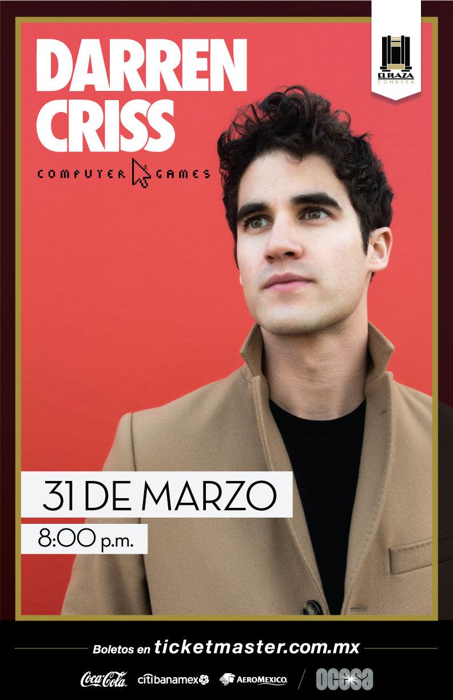 Arte oficial, Darren Criss en México