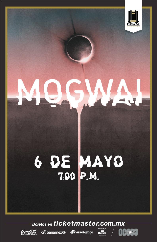 Arte oficial, Mogwai en El Plaza