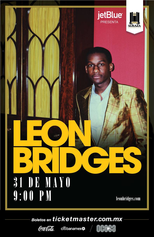 Arte oficial, Leon Bridges en México