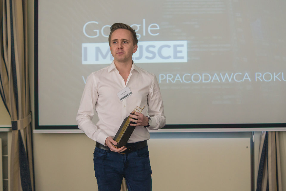 Google: I miejsce w raporcie Pracodawca Roku® 2017