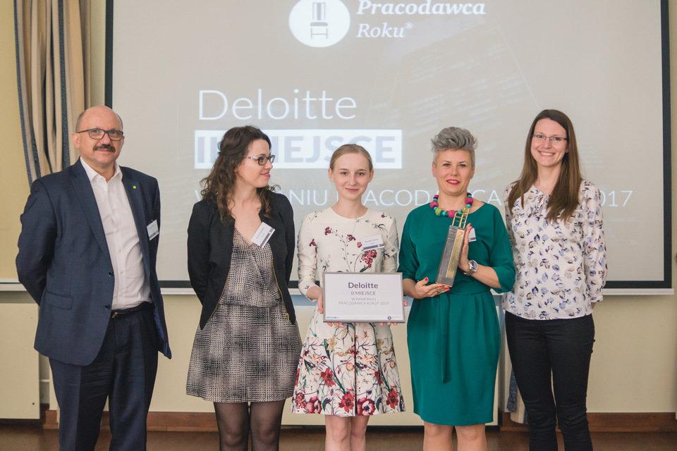 Deloitte: II miejsce w raporcie Pracodawca Roku® 2017