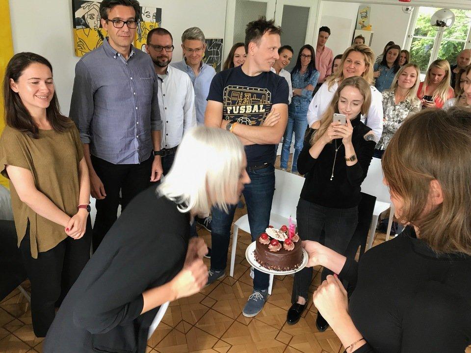 W środę świętowaliśmy nie tylko pierwszą odsłonę #ContentEspresso, ale także urodziny naszego Gościa Specjalnego, Ani Iller.