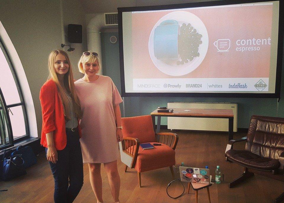 Joanna i Kasia tuż przed wystąpieniem :)