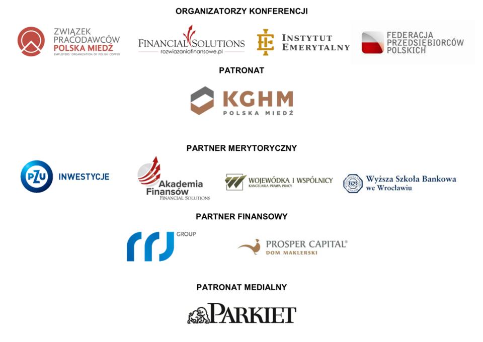 Organizatorzy i partnerzy konferencji