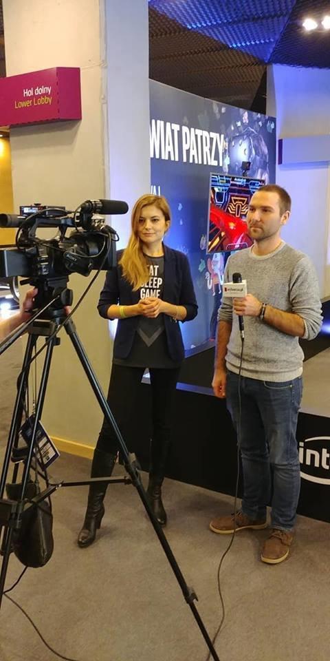 Aleksandra Bojanowska z Intela i Paweł Hekman z Gazety Wyborczej