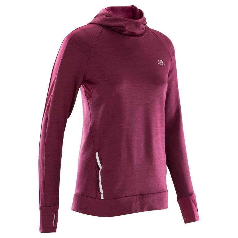 Decathlon, bluza do biegania run warm hood damska, Kalenji, 69,99 PLN (3).jpg