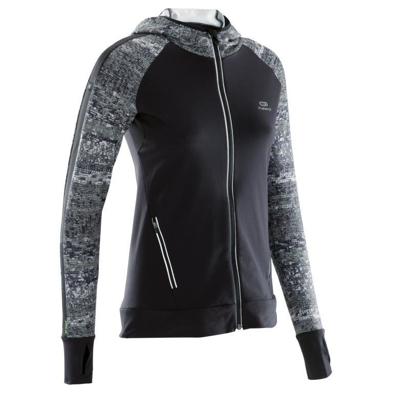 Decathlon, bluza do biegania run warm hood damska, Kalenji, 99,99 PLN (3).jpg