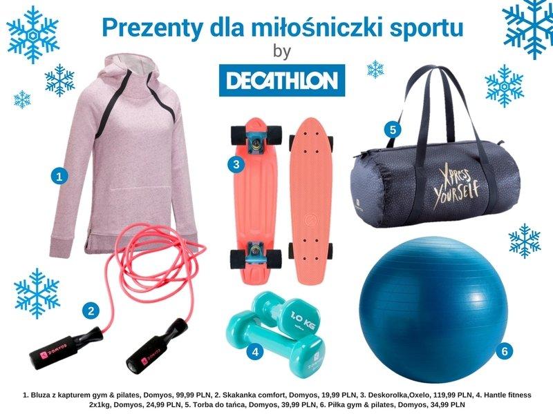 Decathlon, prezenty dla miłośniczki sportu.jpg