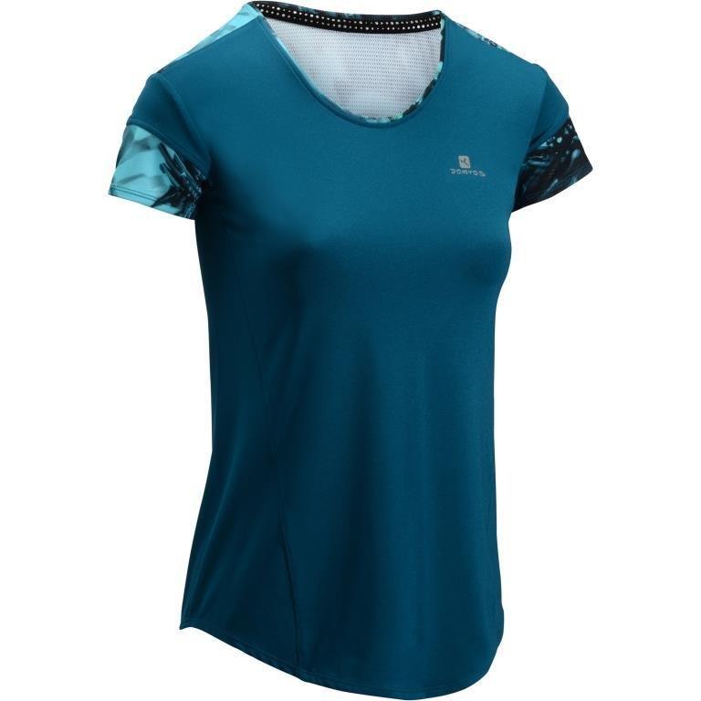 Decathlon, koszulka fitness krótki rękaw 500 damska Domyos, 39,99 PLN.jpg