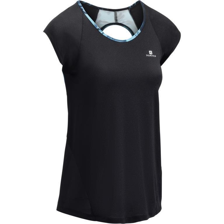 Decathlon, koszulka fitness krótki rękaw 500 damska Domyos, 49,99 PLN.jpg
