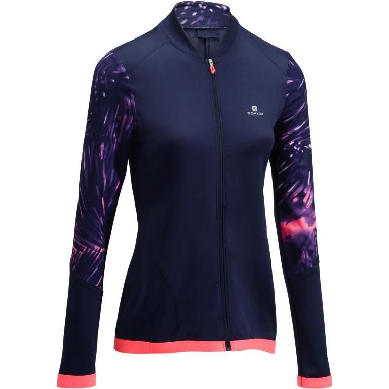 Decathlon, bluza na zamek fitness kardio 500 damska Domyos, 79,99 PLN.jpg