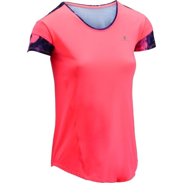 Decathlon, koszulka fitness krótki rękaw 500 damska Domyos, 39,99 PLN (2).jpg