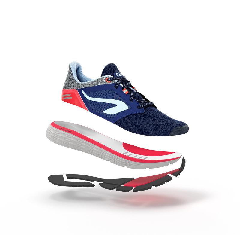 Decathlon, buty do biegania run confort damskie Kalenji, 169,99 PLN (2).jpg