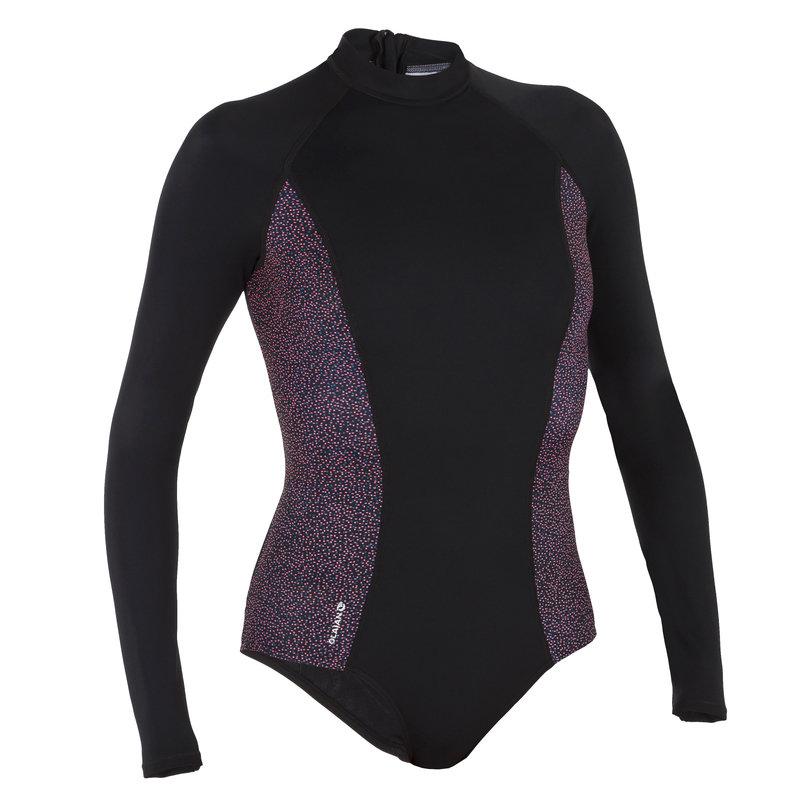 Decathlon, kostium jednoczęściowy długi rękaw damski Olaian, 99,99 PLN.jpg