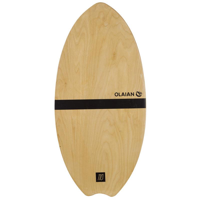 Decathlon, skimboard drewniany Olaian, 199,99 PLN.jpg