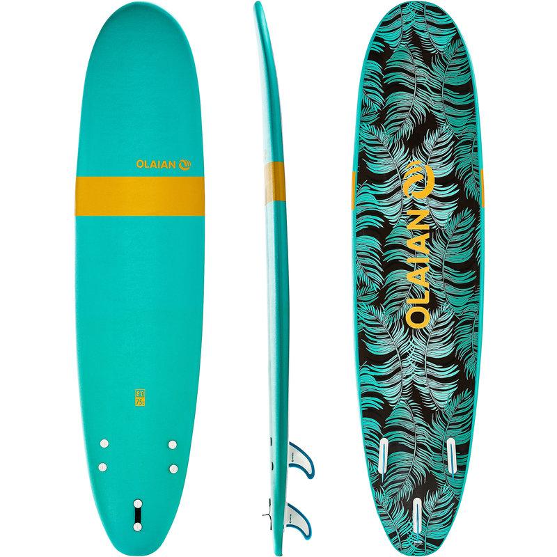 Decathlon, deska surfingowa z pianki z leashem i 3 statecznikami Olaian, 619,99 PLN.jpg