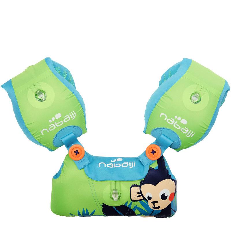Decathlon, rękawki-pas edukacyjny małpka Nabaiji, 59,99 PLN.jpg