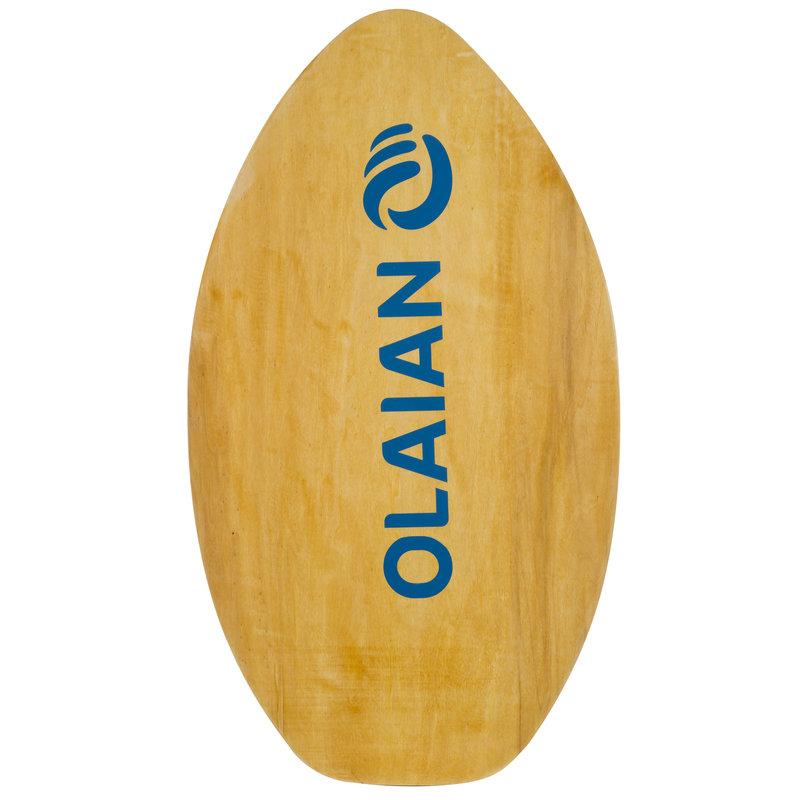 Decathlon, deska skimboard drewniana dla dzieci Olaian, 99,99 PLN.jpg