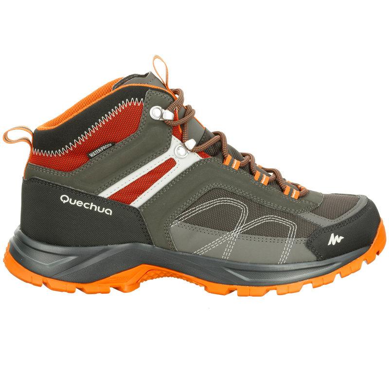 Decathlon, buty turystyczne MH100 MID WTP męskie Quechua, 199,99 PLN.jpg