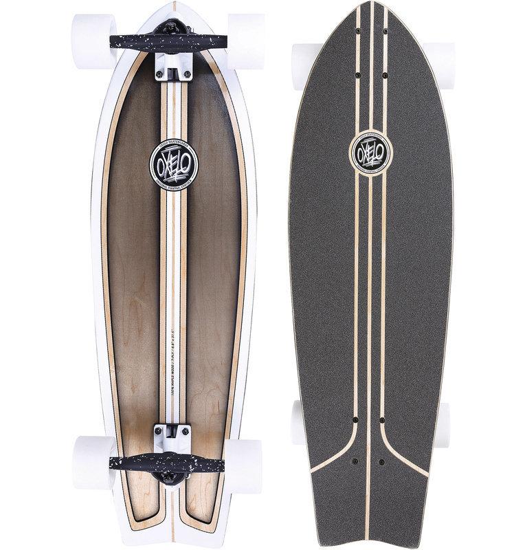 Decathlon, longboard fish classic surf Oxelo, 299,99 PLN.jpg
