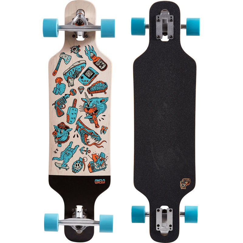 Decathlon, longboard drop mini core Oxelo, 249,99 PLN.jpg