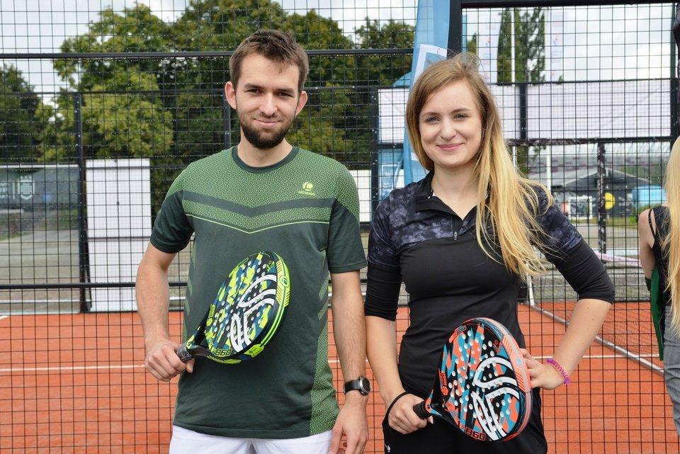 Fot. 4 Materiały własne | Kasia i Łukasz - pracownicy Decathlon