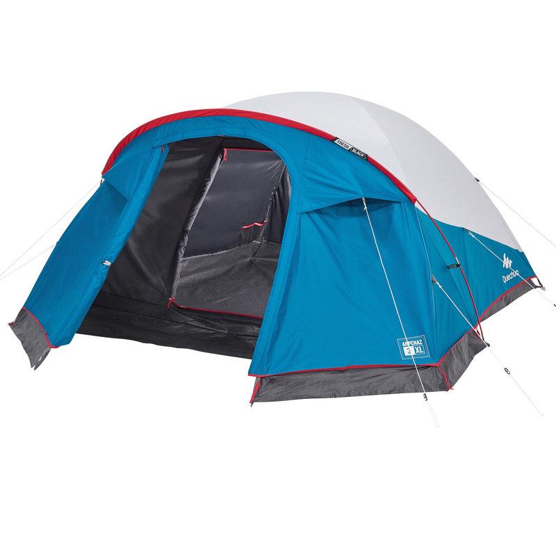 Decathlon, namiot kempingowy Arpenaz 3XL Fresh & Black, 3 os. Quechua, 349,99 PLN.jpg