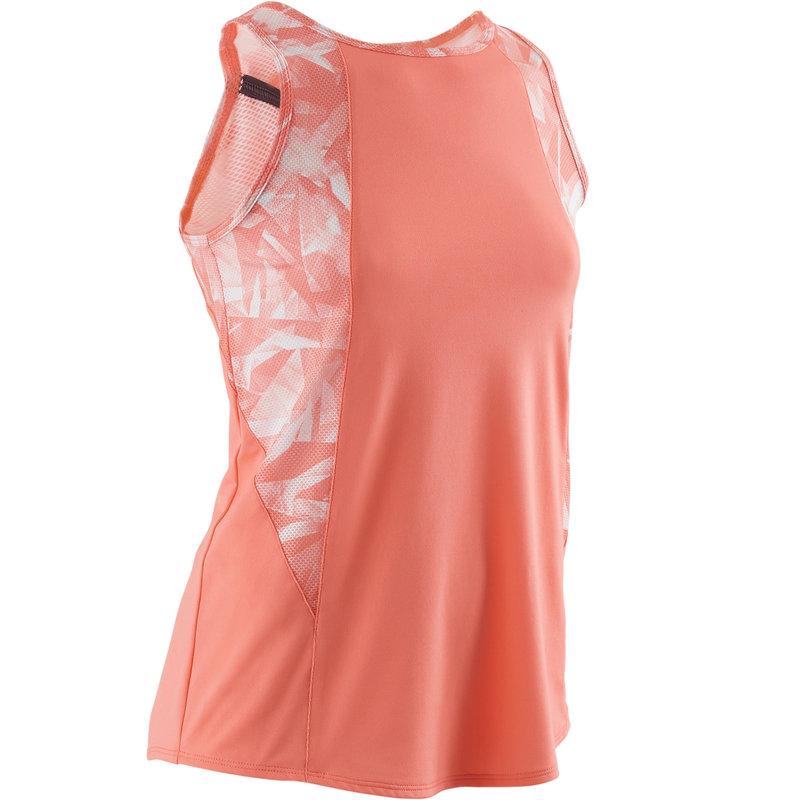 Decathlon, koszulka bez rękawów gym & pilates S900 dla dzieci Domyos, 34,99 PLN.jpg