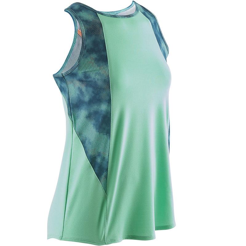 Decathlon, koszulka bez rękawów gym & pilates S900 dla dzieci Domyos, 34,99 PLN (3).jpg