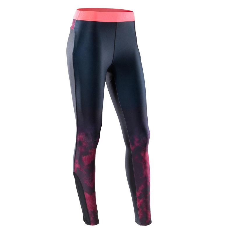 Decathlon, legginsy fitness kardio 500 damskie Domyos, 64,99 PLN (2).jpg