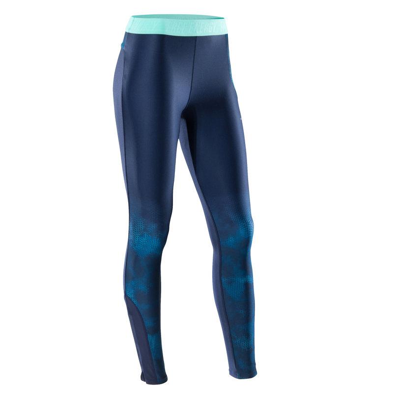Decathlon, legginsy fitness kardio 500 damskie Domyos, 64,99 PLN (4).jpg