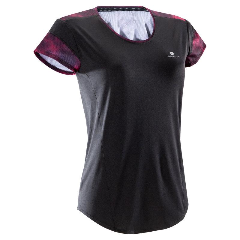 Decathlon, koszulka fitness kardio krótki rękaw 500 damska Domyos, 39,99 PLN.jpg