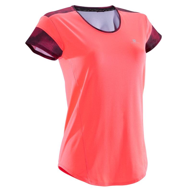 Decathlon, koszulka fitness kardio krótki rękaw 500 damska Domyos, 39,99 PLN (2).jpg