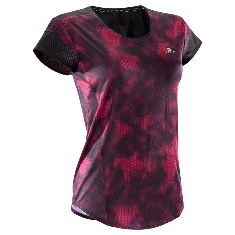 Decathlon, koszulka fitness kardio krótki rękaw 500 damska Domyos, 39,99 PLN (4).jpg