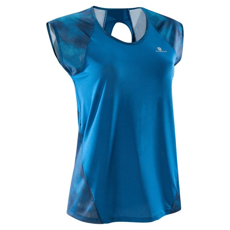 Decathlon, koszulka fitness kardio krótki rękaw 500 damska Domyos, 49,99 PLN.jpg