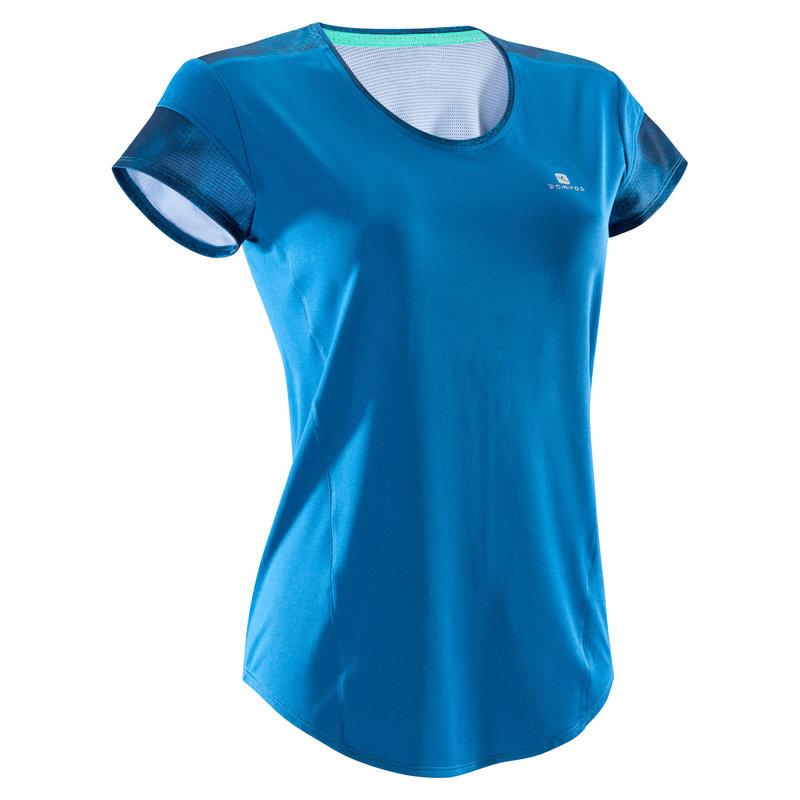 Decathlon, koszulka fitness kardio krótki rękaw 500 damska Domyos, 39,99 PLN (3).jpg