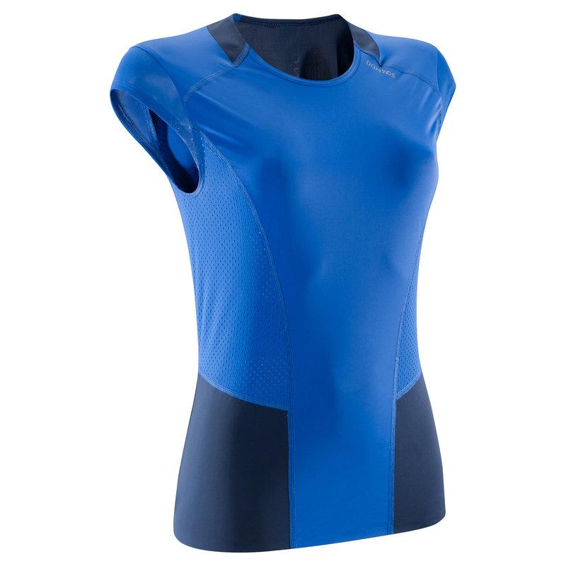 Decathlon, koszulka fitness krótki rękaw 900 damska Domyos, 64,99 PLN (2).jpg